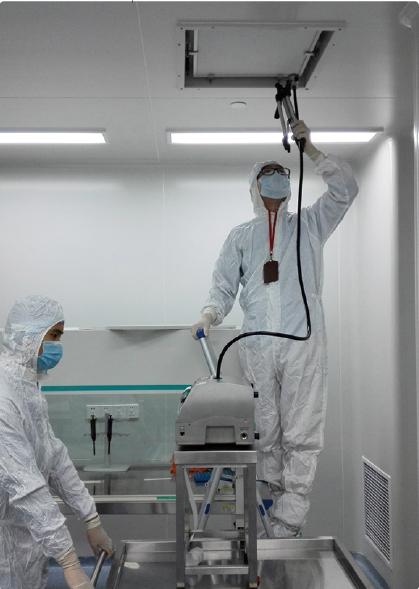 空气净化设备在生物制药行业中的应用